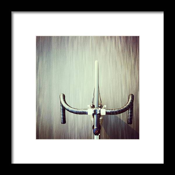 San Francisco Framed Print featuring the photograph Riding Bicycle by Joey Celis