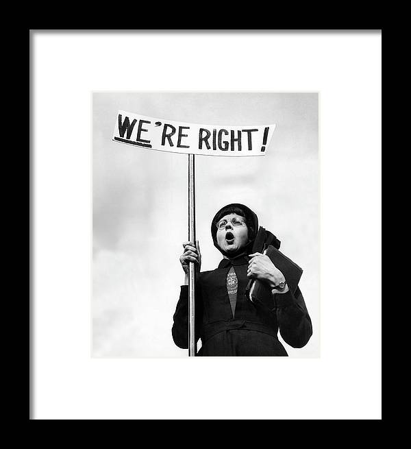 England Framed Print featuring the photograph Righteous by John Chillingworth
