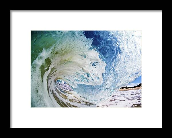 Sky Framed Print featuring the photograph Rinse Cycle by Shannonstent