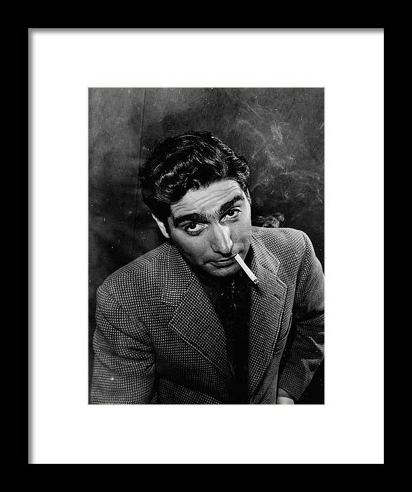 Timeincown Framed Print featuring the photograph Robert Capa by Alfred Eisenstaedt
