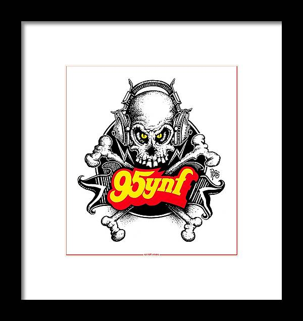 Rock N Roll Pirates Framed Print
