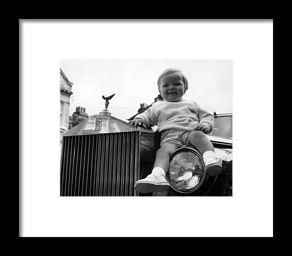 rolls royce baby framed printcentral press