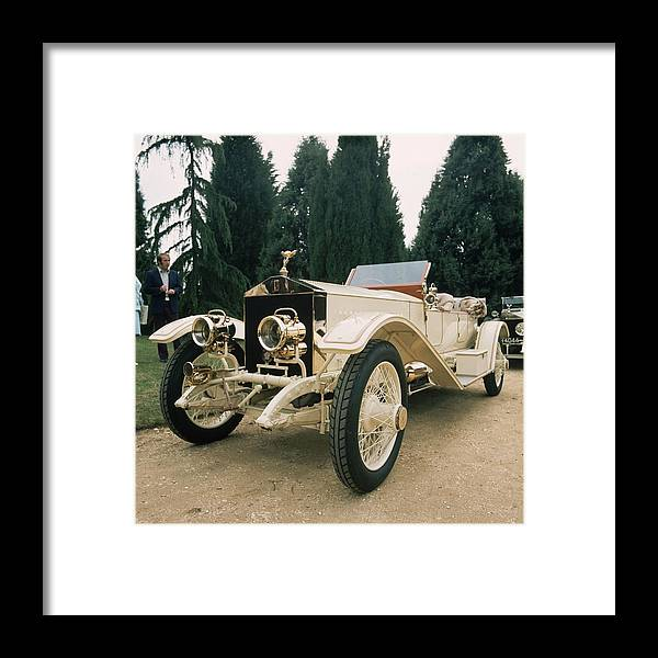Rolls Royce Framed Print featuring the photograph Rolls Royce by Graham French