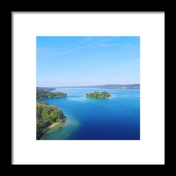 Starnberg Framed Print featuring the photograph Roseisland by Daniel Hornof