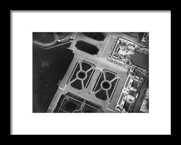 Versailles Framed Print featuring the photograph Royal Birds Eye by Nadar