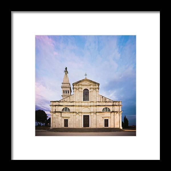 Outdoors Framed Print featuring the photograph Saint Euphemia Church by David Madison
