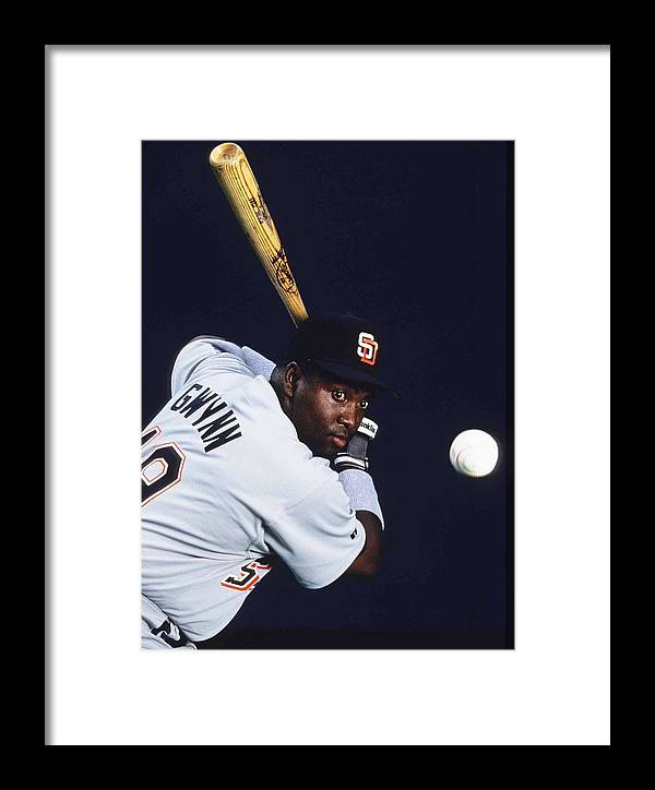 People Framed Print featuring the photograph San Diego Padres by Ronald C. Modra/sports Imagery