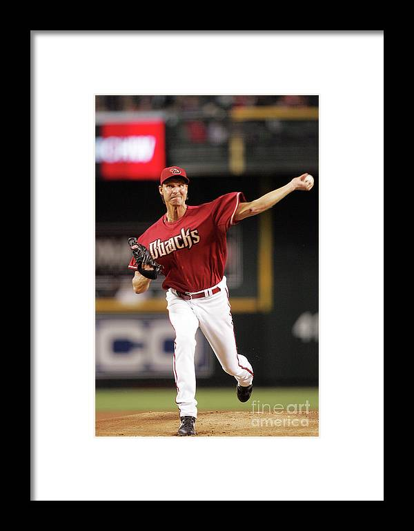 People Framed Print featuring the photograph San Francisco Giants S V Arizona by Nick Doan
