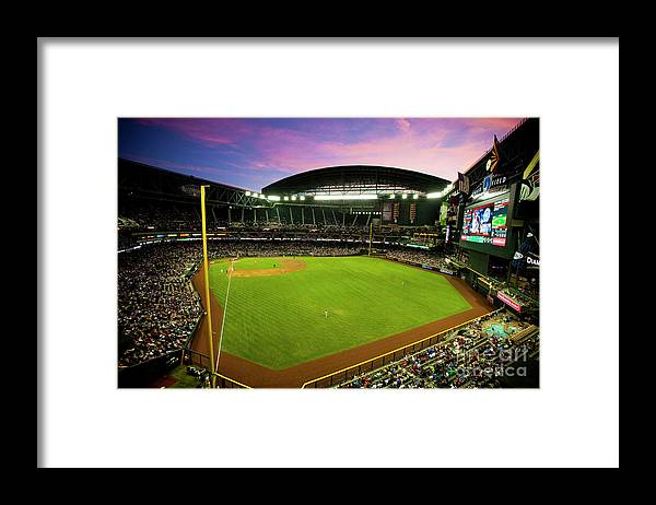 Arizona Framed Print featuring the photograph San Francisco Giants V Arizona by Jon Willey