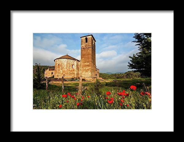 Catalonia Framed Print featuring the photograph Sant Esteve Dolius by Julio Alvarez