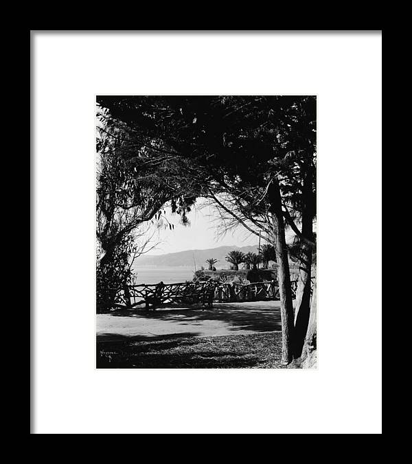 California Framed Print featuring the photograph Santa Monica by Frederic Lewis