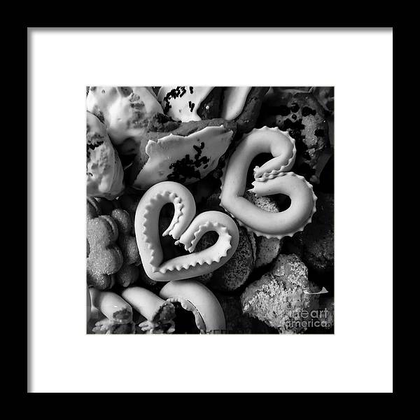 Sardinia Framed Print featuring the photograph Sardinian Pastry by Paola Baroni