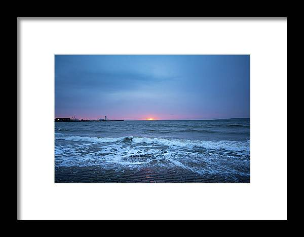 Scarborough Framed Print featuring the mixed media Scarborough by Smart Aviation