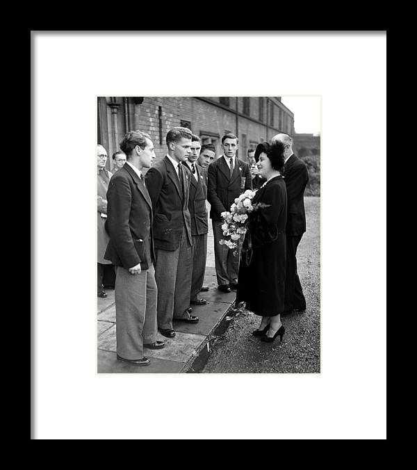 Event Framed Print featuring the photograph School Prefects by Pna Rota