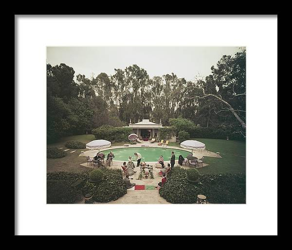1950-1959 Framed Print featuring the photograph Scone Madam by Slim Aarons