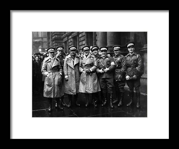 Ambulance Framed Print featuring the photograph Scottish Volunteers by Fox Photos