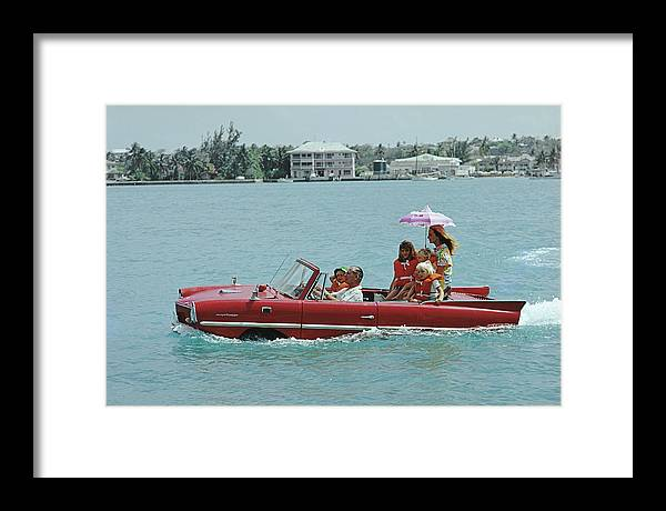 Child Framed Print featuring the photograph Sea Drive by Slim Aarons