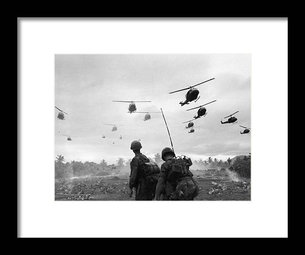 Southeast Asia Framed Print featuring the photograph Search And Destroy by Patrick Christain