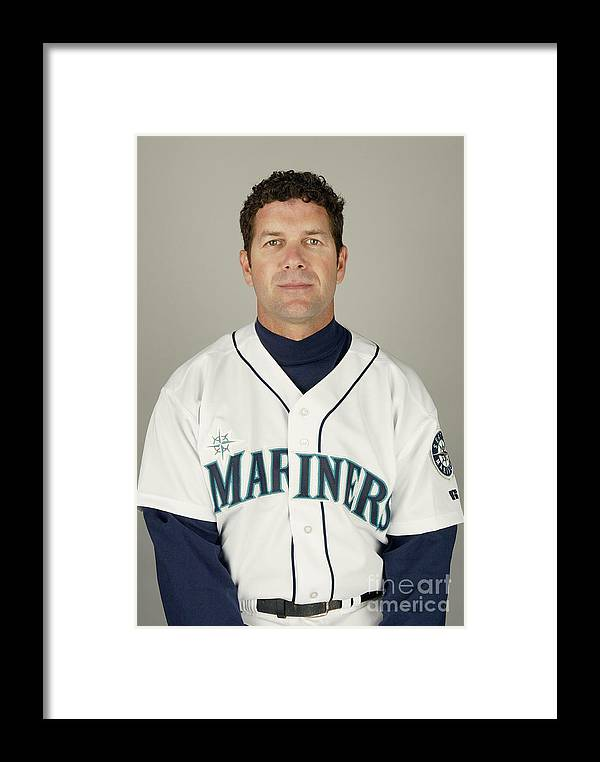 Media Day Framed Print featuring the photograph Seattle Mariners Photo Day by Harry How
