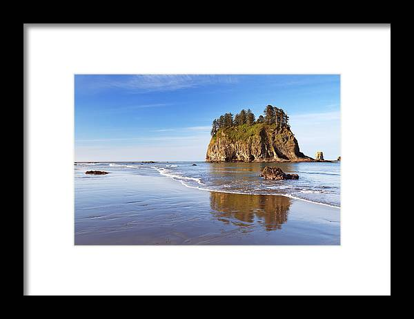 Scenics Framed Print featuring the photograph Second Beach On The Olympic Peninsula by Sara winter