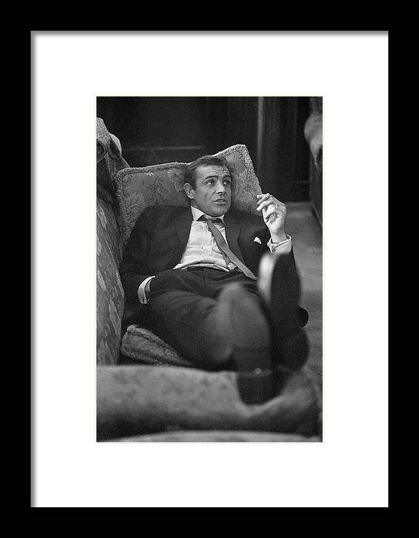 Smoking Framed Print featuring the photograph Sexy Scot by Bob Haswell