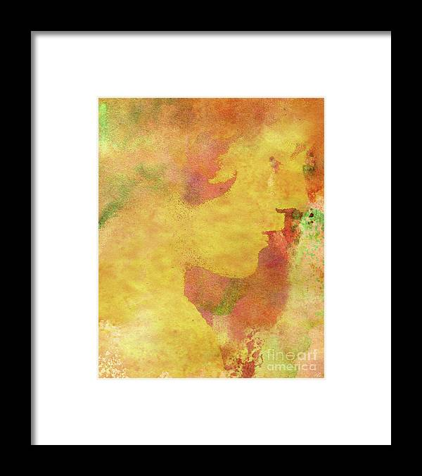 Shades Of You Framed Print featuring the digital art Shades of You by Kenneth Rougeau