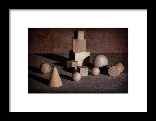 Shape Framed Print featuring the photograph Shape And Shadow by Tom Mc Nemar