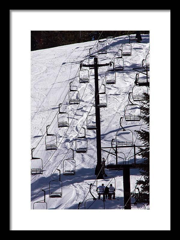 Ski Lift Art Print t