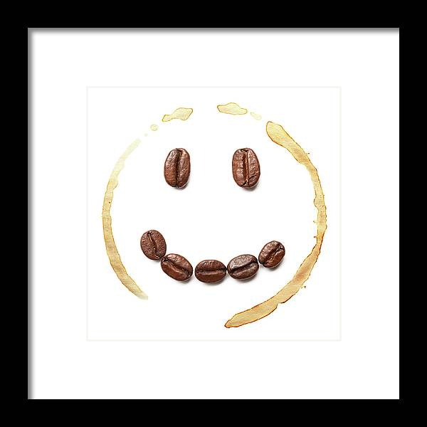 Spray Framed Print featuring the photograph Smile Coffee Beans by T kimura