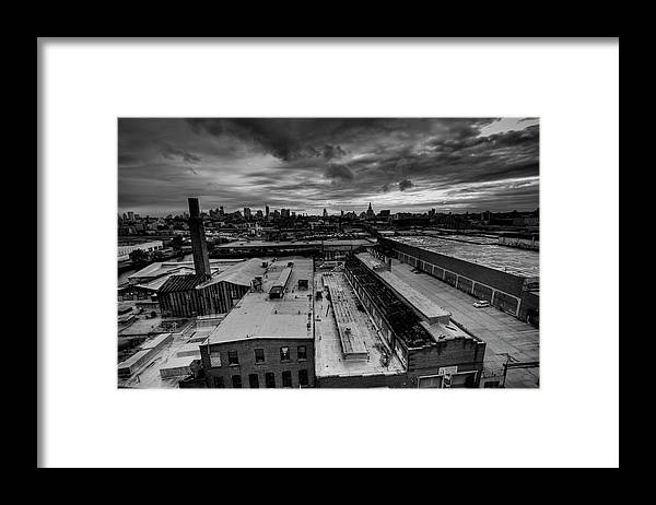 Industrial District Framed Print featuring the photograph Smith 9th Panorama by Digitalcursor / Miron Kiriliv