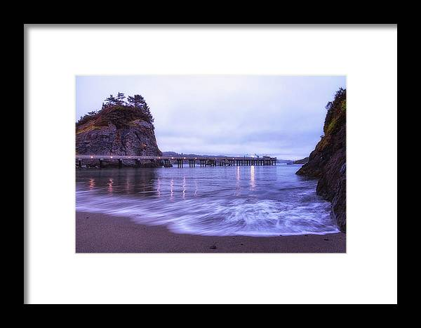 California Framed Print featuring the photograph Soaking It All In by Marnie Patchett
