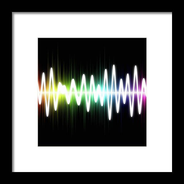 Sound Wave Framed Print featuring the photograph Sound Wave by Fotografstockholm