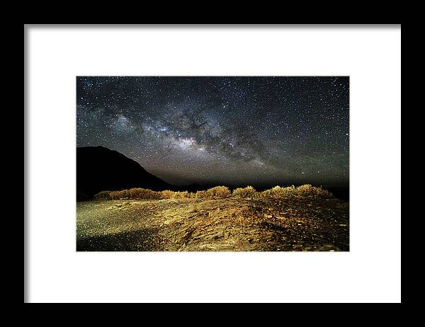 Scenics Framed Print featuring the photograph Space by Copyright Of Eason Lin Ladaga
