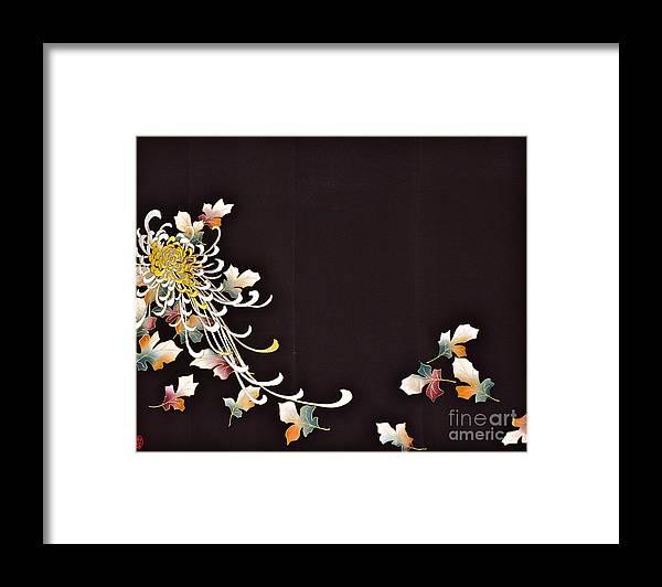 Framed Print featuring the digital art Spirit of Japan T35 by Miho Kanamori