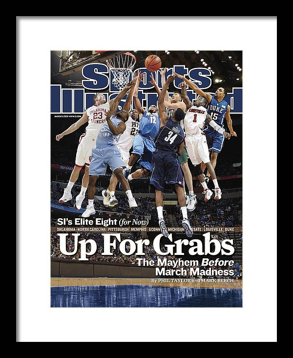Sports Illustrated Framed Print featuring the photograph Sports Illustrateds Elite Eight Sports Illustrated Cover by Sports Illustrated