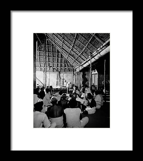 Timeincown Framed Print featuring the photograph Sri Ramana Maharshi by Eliot Elisofon