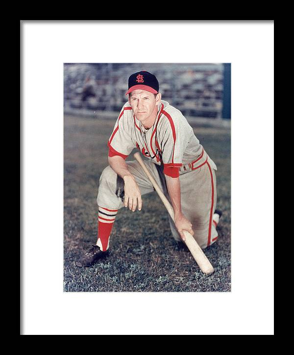 St. Louis Cardinals Framed Print featuring the photograph St. Louis Cardinals by Hulton Archive