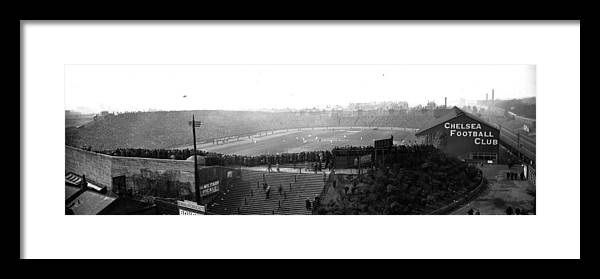 Crowd Framed Print featuring the photograph Stamford Bridge by Alfred Hind Robinson