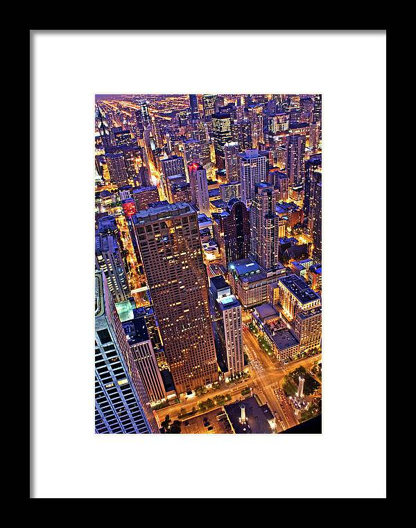 Outdoors Framed Print featuring the photograph Stepping Over The Ledge by Garron Nicholls