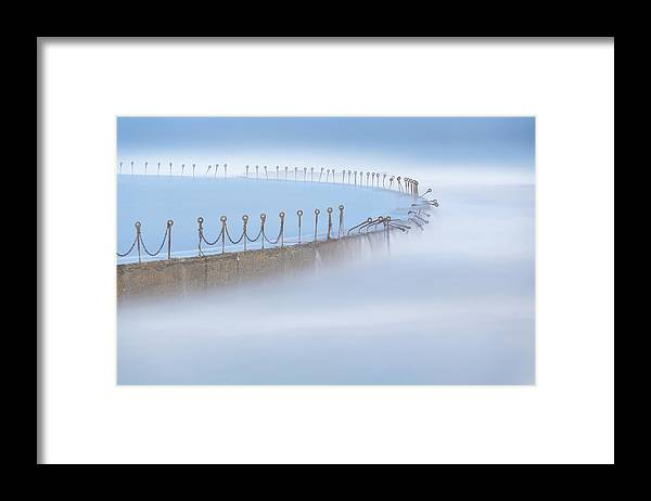 Seascape Framed Print featuring the photograph Still Water by Jingshu Zhu