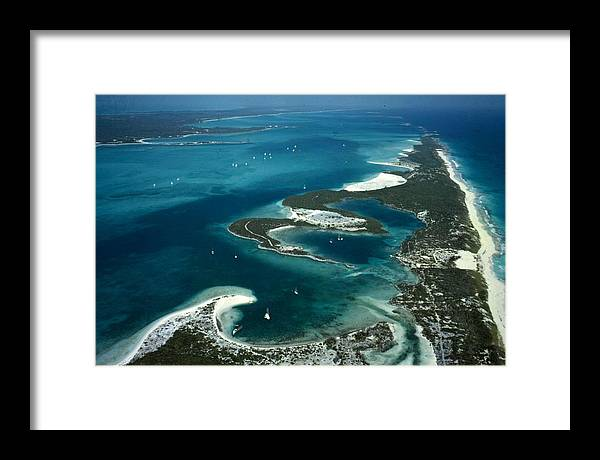 Landscape Framed Print featuring the photograph Stocking Island by Slim Aarons