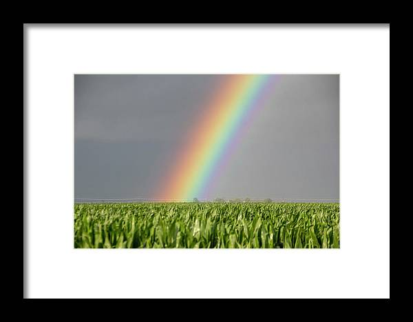 Nebraskasc Framed Print featuring the photograph Storm Chasing After That Afternoon's Naders 023 by NebraskaSC