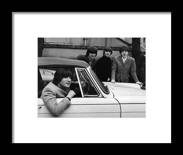 Rock Music Framed Print featuring the photograph Street Legal Beatle by Express Newspapers