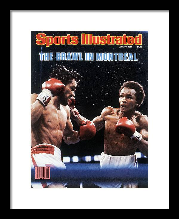 1980-1989 Framed Print featuring the photograph Sugar Ray Leonard, 1980 Wbc Welterweight Title Sports Illustrated Cover by Sports Illustrated