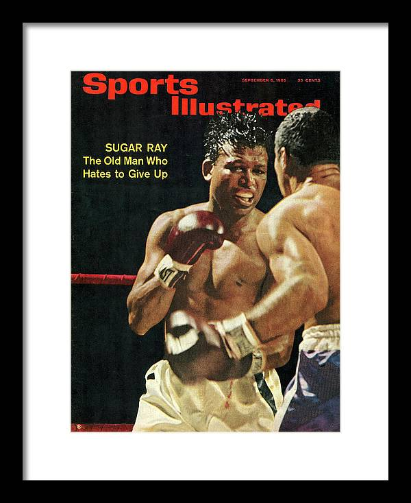 Honolulu Framed Print featuring the photograph Sugar Ray Robinson, 1965 Light Middleweight Boxing Sports Illustrated Cover by Sports Illustrated