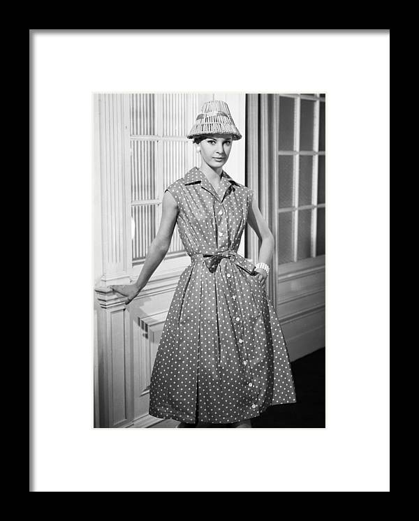 Material Framed Print featuring the photograph Summer Fashion by Chaloner Woods