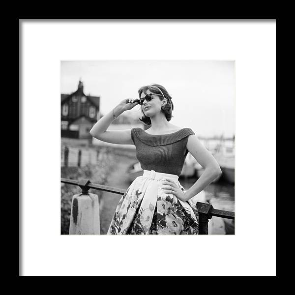 Lifestyles Framed Print featuring the photograph Summer Knitwear by Chaloner Woods