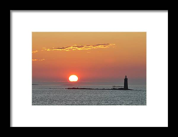Scenics Framed Print featuring the photograph Sunrise by Aimintang