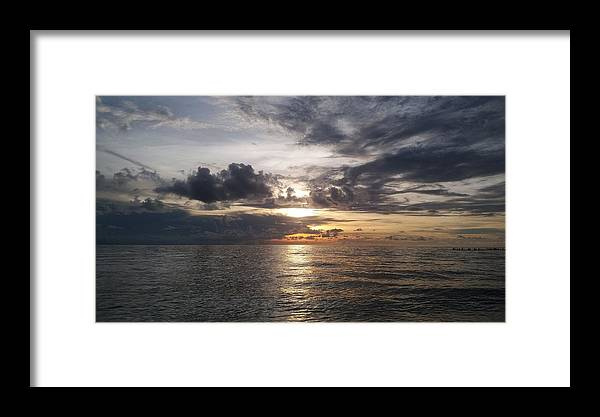 Sunset Framed Print featuring the photograph Sunset by Cora Jean Jugan