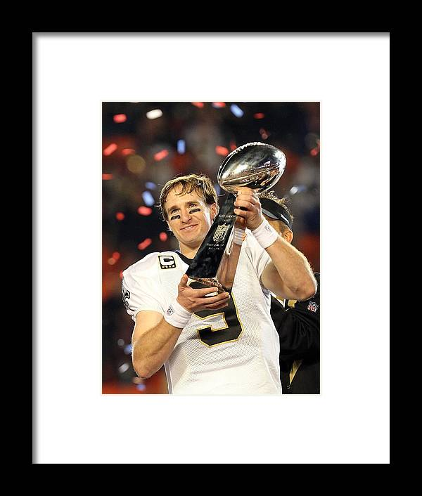 Miami Gardens Framed Print featuring the photograph Super Bowl Xliv by Ronald Martinez